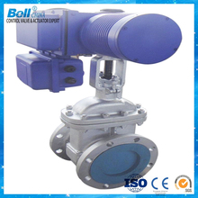 automatic electric actuated cast iron wedge /electric gate valve