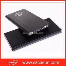 2015 Hot Selling High Quality Slim Portable Phone Charger /10000mah portable charger