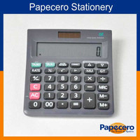 Office Supply Standard Function Desktop Solar and Electron Calculator 12 Digit