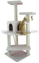 Eco-friendly cat tree cat scratching post for happy cat