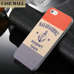 2016 Wholesale China New Arrival Anchor design cheap plastic back case cover PC case for iphone 5s
