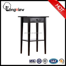 china factory cheapest solid wood bar table ikea (black),antique high bar table