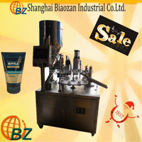 china low price filing sealing machine for cosmetic
