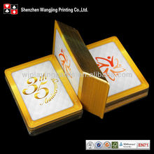 Custom Playing Card Poker,Gift Promotion Gold Foil Playing Card,Custom Printed Promotion Gold Foil Playing Card