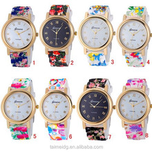 Silicone jelly watch, cheap relojes, stainless steel back water resistant