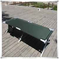 olive green aluminum folding camping bed camping bed