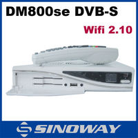 satellite tv free to air internet receiver dm800hd se with wifi sim 2.10 or A8P satellite tv