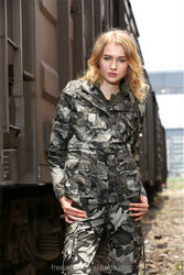 FreeArmy manufacturer OEM women camo jacket