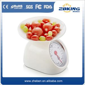 الجملة الرخيصة الميكانيكية مواجهة الطلب المنزلية وزنها مقياس المطبخ 1 كيلوجرام
