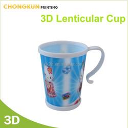 High Quanlity Cheap plastic coffee mug with handle