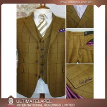 2015 Latest design 100% wool China men cheap suit factory made to measure suits 3 piece suits