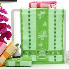 Thick cotton jacquard towel mouth monkey design