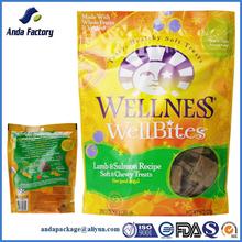 Lamb & Salmon Biscuits Dog Treats Plastic Packaging Bag