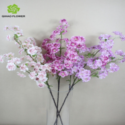 Artificial flowers.wedding decorations. cherry blossom branches