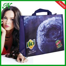 eco reusable custom different styles fashion women pp nonwoven laminated custom printed shopping bags