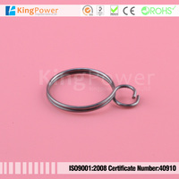 custom metal tube clips double wires pipe clips spring clips for automobile