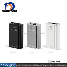 Black/SS colors New Smok X cube mini 75W TC mod PK Xcube 2 160W TC mod fit Smok TFV4 mini tank