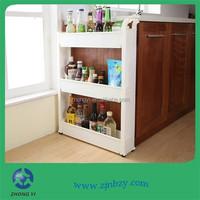 Small Plastic Corner Storage Shelf