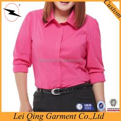 White short sleeve shirts/xxx adult women clothing/top shirt for fat women