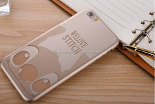 China supplier Laser etching cartoon PP ultra thin phone case oem