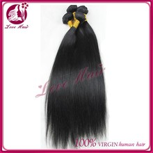 Natural color 1b# full cuticle hair extension good quality virgin filipino wavy hair