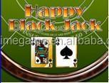 Happy Black Jack poker game board