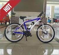 "Hot sale 26"" sport racing e-bike bottle battery e-bike with buit-in brushless motor"