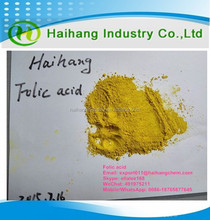 Provide high quality Vitamin B9 59-30-3 fine powder 97% in stock