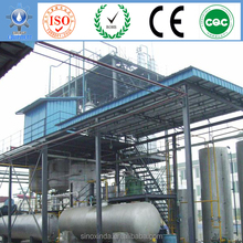 biofuel plants with matched by products glycerin processing system