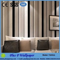asian style water resistant decorative pvc wallpaper