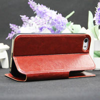 Leather For iphone 5c Case New Products ,Colorful Leather Case Customized for iphone