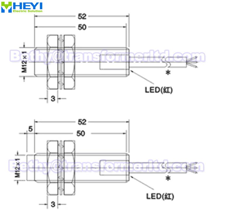 Inductive Proximity Sensor Lj12a3 Ax  U0026 Lj12a3 Ax