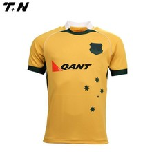 custom design sublimated practice rugby jersey/shirt
