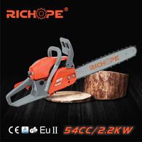 zm5410 petrol chain saw with gasoline engine wood cutting machine