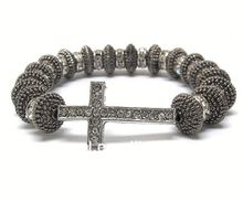 one direction wooden bracelets CRYSTAL AND EPOXY DECO SUN GLASSES STRETCH BRACELET L11153RDCRBLK-72602