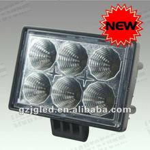 2012 New Design! 18W 10-30V super bright led work light(JF-618) auto led light 12v/24v dc led lighting projector car accessories