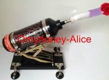 Quliaty alto máquina de sexo com base, de alta velocidade automática empurrando máquina de sexo telescópica distância