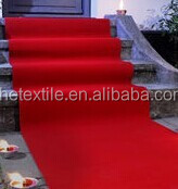 Red exhibition Carpet, Stairs of Red Carpet, Red Shaggy Carpet Runner