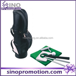 High quality golf clubs complete set,golf promotion gift putting game indoor golf gift set