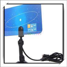 Digital Indoor VHF UHF Ultra Thin Flat TV Antenna for HDTV 1080p DTV HD Ready