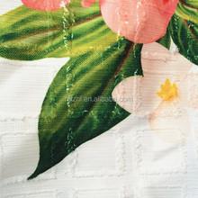 Print fabric jacquard for women's apparel