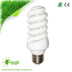 pbt CE certified 10000hours 7W full spiral energy saver light bulb
