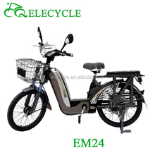 ELECYCLE EM24 60V/350W Lead-acid battery light and mini Electric Motorcycle from Jiangmen, China