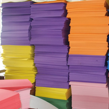 Factory price high quality non-toxic eva foam sheet with various colors and sizes