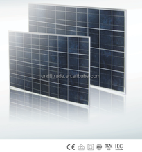 Low Price poly Solar Panel From 100w to 120w with TUV IE RoHS certified
