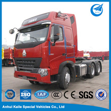 6x4 371HP sinotruk howo trailer truck with air conditioner