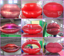 New design !!!! waha customized inflatable lips /inflatable mouth