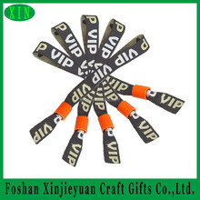 One time use fabric wristband for new year party, celebrating activity