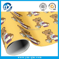 Baby wrapping paper cartoon design paper