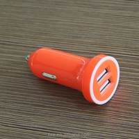 Quick charging one or two usb Power supply promotional dc 2 port mini usb car charger for galaxy